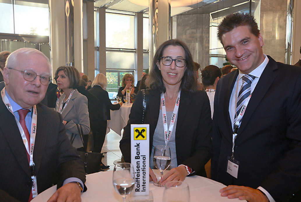 Michael Weilguny Forum Aufsichtsrat Event 2018 mit Marion Khüny