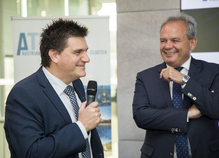 Michael Weilguny mit Josef Fiala, Vorstand Asfinag AG