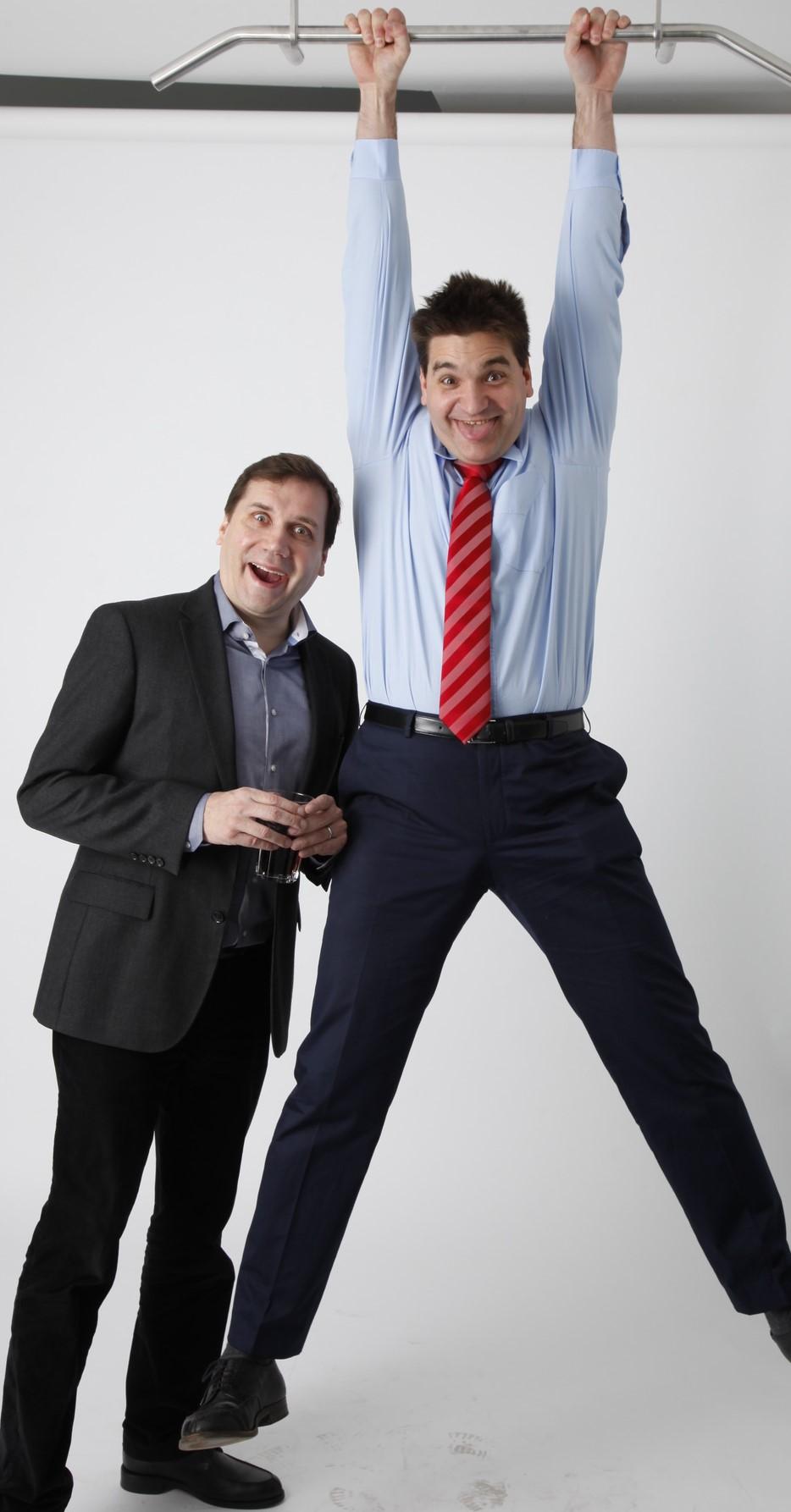Michael Weilguny hangout mit Toni Koschier