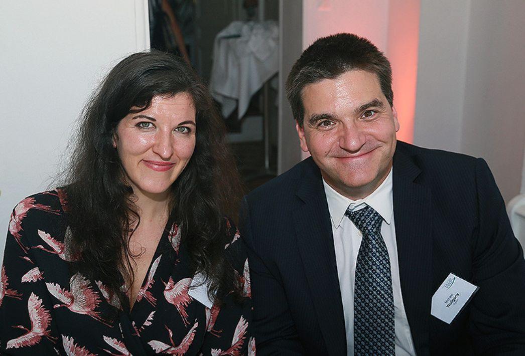 Michael Weilguny mit Monika Medek
