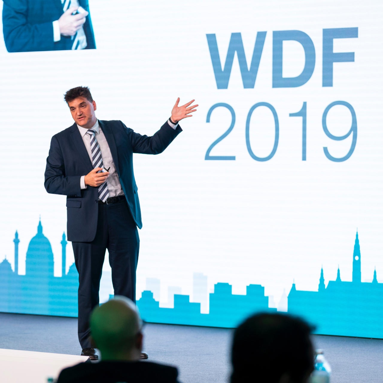 Michael Weilguny als Keynote Speaker am Wheel Detection Forum 2019