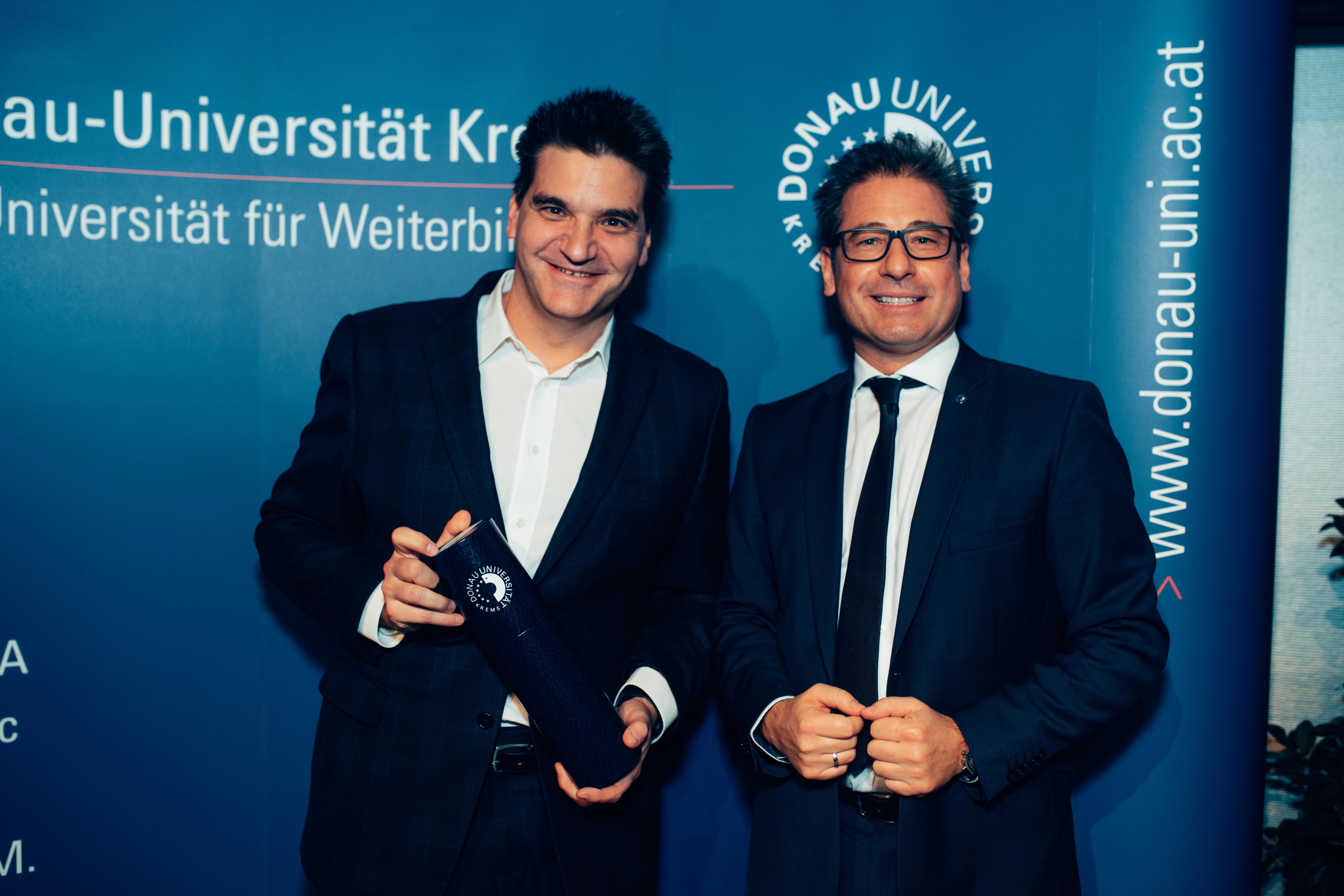 Michael Weilguny Graduierung-Aufsichtsrat Universitätslehrgang Professionelle Aufsichtsrats- und Gremientätigkeit 2019 Donau-Universität Krems